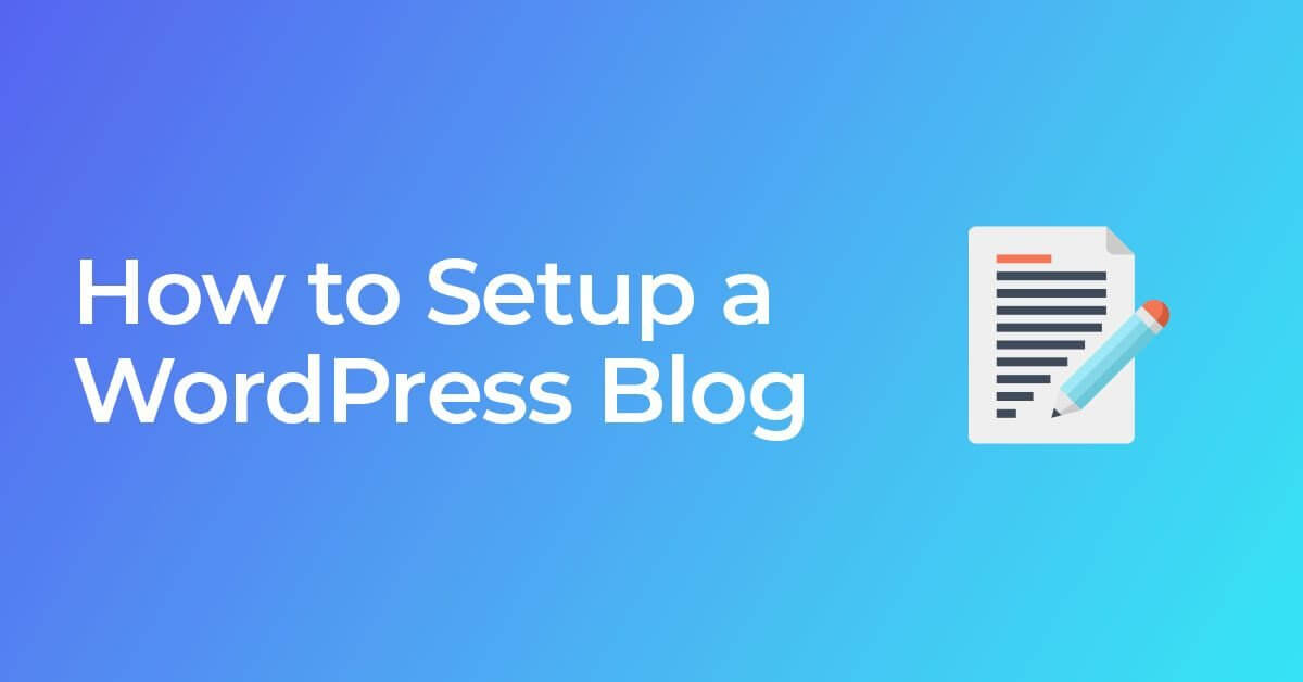 write a blog in wordpress